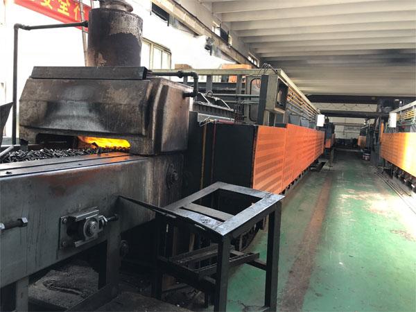 连续加热炉的分类与工作方式